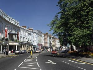 The Parade, Leamington Spa, Warwickshire by Peter Thompson