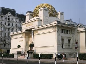 The Secession Building, Vienna, Austria by Peter Thompson