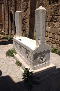 Tomb of Yirmisekiz Mehmet Cheleb, North Cyprus by Peter Thompson