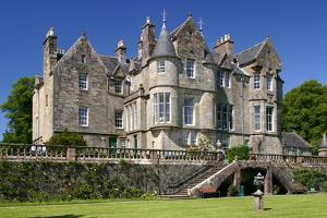 Torosay Castle and Gardens, Mull, Argyll and Bute, Scotland by Peter Thompson
