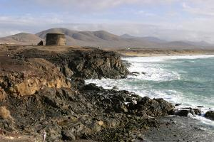 Tower, El Cotillo, Fuerteventura, Canary Islands by Peter Thompson