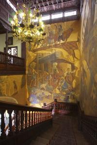 Town Hall Interior, Santa Cruz De La Palma, La Palma, Canary Islands, Spain, 2009 by Peter Thompson