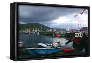 Ullapool Harbour on a Stormy Evening, Highland, Scotland by Peter Thompson