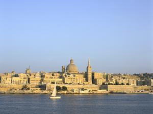 Valletta, Viewed from Sliema, Malta by Peter Thompson