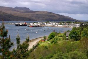 View of Ullapool Harbour, Highland, Scotland by Peter Thompson