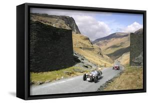 Vintage Cars Climbing Honister Pass, Lake District, Cumbria by Peter Thompson