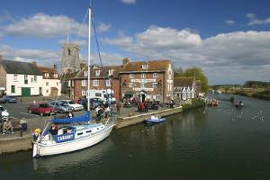 Waterfront at Wareham, Dorset by Peter Thompson