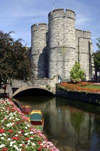 West Gate Towers, Canterbury, Kent by Peter Thompson