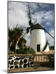 Windmill, Antigua, Fuerteventura, Canary Islands by Peter Thompson