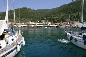 Yachts, Sami, Kefalonia, Greece by Peter Thompson