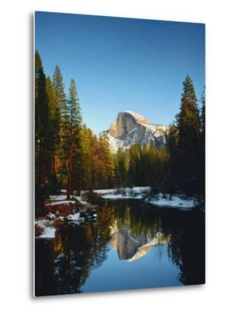 Half Dome Reflected in Merced River, Yosemite National Park