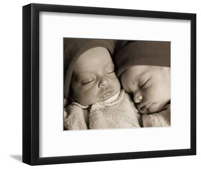 Newborn Twins Sleeping