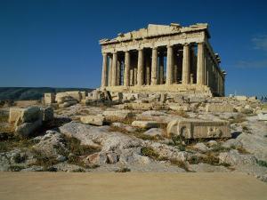 Parthenon in Athens, Greece by Peter Walton