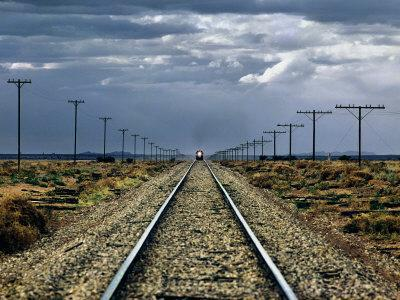 Train Near Flinders Ranges, Australia