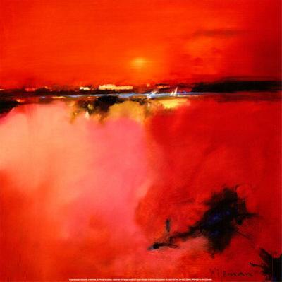 Orange Horizon by Peter Wileman