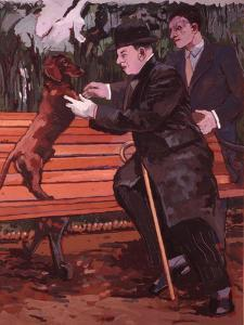 Every Dog Has His Day, 1981 by Peter Wilson