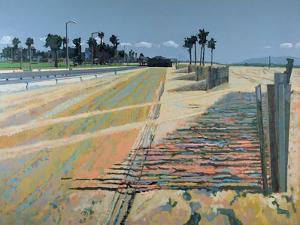 Fence on the Beach, Santa Monica, USA, 2002 by Peter Wilson