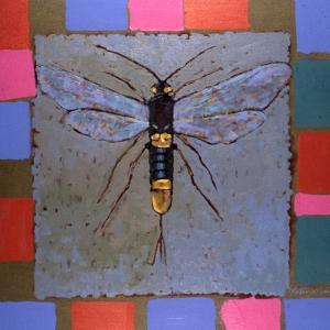Giant Horntail, 1996 by Peter Wilson