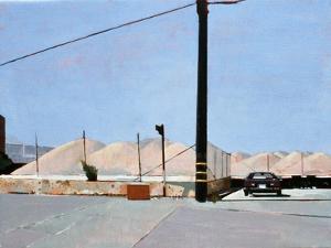 Gravel Piles Downtown La, 2007 by Peter Wilson
