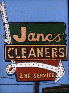Janes's Cleaners, 2006 by Peter Wilson