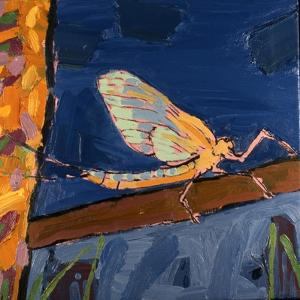 May Fly, 1991 by Peter Wilson