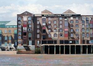 Metropolitan Wharf, 2006 by Peter Wilson