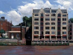 Oliver's Wharf, 2007 by Peter Wilson