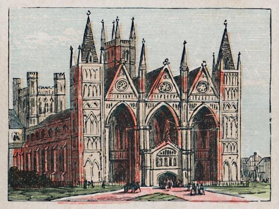 'Peterborough', c1910-Unknown-Giclee Print