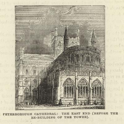Peterborough Cathedral, the East End--Giclee Print