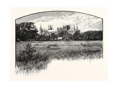 Peterborough Cathedral--Giclee Print