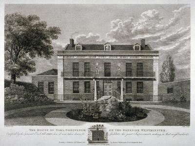 Peterborough House, Millbank, Westminster, London, 1821-Thomas Dale-Giclee Print