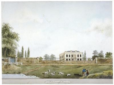 Peterborough House, Millbank, Westminster, London, C1805--Giclee Print