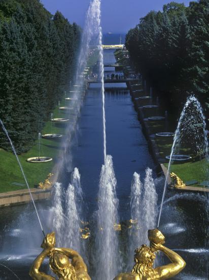 Peterhof Palace-Jean-pierre Lescourret-Photographic Print