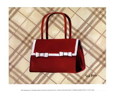 Petit Sac Rouge II-Trish Biddle-Art Print