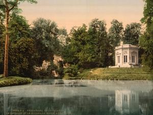 Petit Trianon, the Pavillion and the Rock of Marie Antoinette, Versailles, France, C.1890-1900