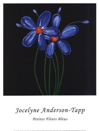 Petite Bleu-Jocelyne Anderson-Tapp-Art Print