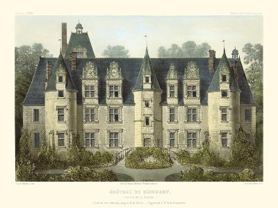 Petite French Chateaux III-Victor Petit-Art Print