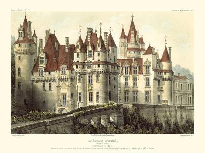 Petite French Chateaux VII-Victor Petit-Art Print