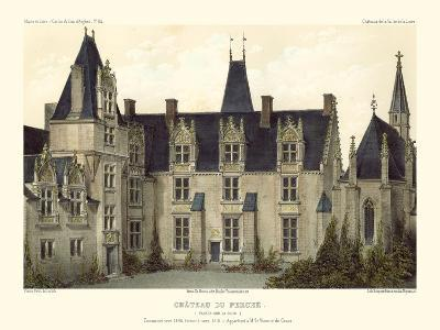 Petite French Chateaux VIII-Victor Petit-Art Print