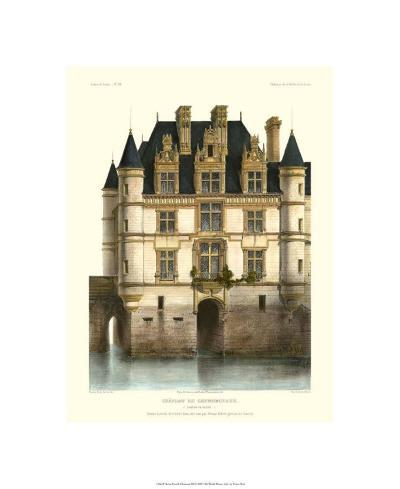 Petite French Chateaux XI-Victor Petit-Premium Giclee Print