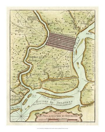 picture relating to Printable Maps of Philadelphia named Pee Map of Philadelphia Giclee Print via