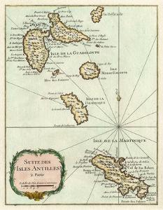 Petite Map of the Antilles Islands I
