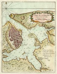 Petite Map of the Port of Havana