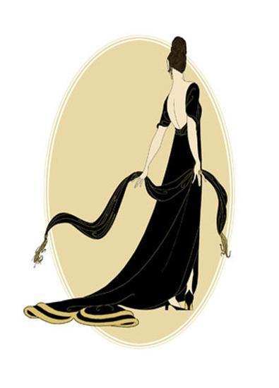 Petite Sophisticated Ladies IV--Art Print