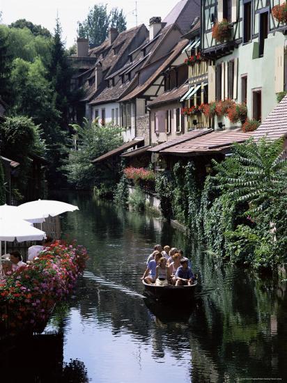 Petite Venise, Colmar, Haut-Rhin, Alsace, France-David Hughes-Photographic Print