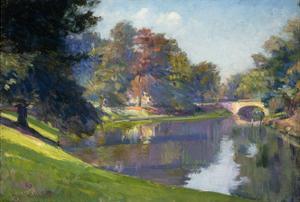 Le Bois de Bruxelles by Petitjean Hippolyte