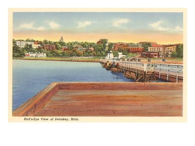 Petoskey, Michigan--Art Print