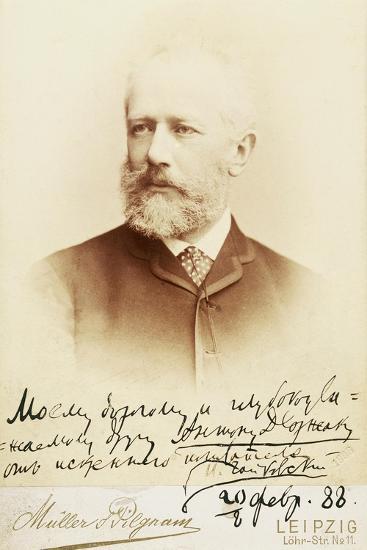 Petr Ilyich Tchaikovsky--Giclee Print