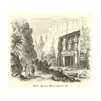 Petra, Ancient Edom, Joel, Iii, 19--Giclee Print