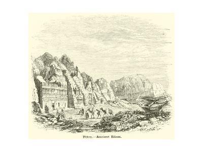 Petra, Ancient Edom--Giclee Print
